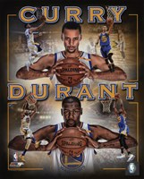 Stephen Curry & Kevin Durant 2016 Portrait Plus Fine-Art Print