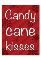 Candy Cane Banner Fine-Art Print