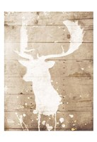 Deer Drip Fine-Art Print
