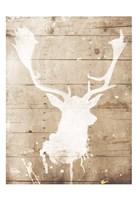 Deer Drip Mate Fine-Art Print
