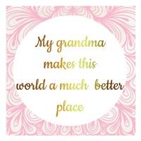 Grandmas World Fine-Art Print