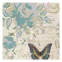 Carte Postal Floral 2 Fine-Art Print