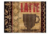 Latte Sipping 2 Fine-Art Print