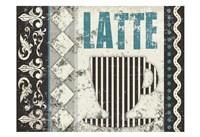 Latte Sipping 1 Fine-Art Print