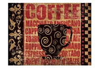 Caffeinated Expressions 3 Fine-Art Print