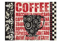 Caffeinated Expressions 1 Fine-Art Print