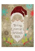 Santas Kitchen 1 Fine-Art Print