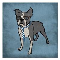 Nerdy Terrier Fine-Art Print