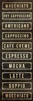 Coffee List Fine-Art Print