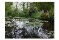 Monet Pond 2 Fine-Art Print
