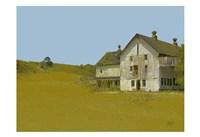 Barn With Blue Sky Fine-Art Print
