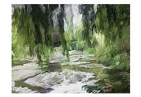 Monets Tranquil Gardens Fine-Art Print