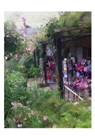 Gift Shop At Giverny Fine-Art Print