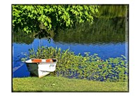 Country Pond Row Boat Fine-Art Print