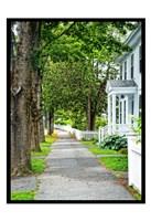 Country Town Sidewalk Fine-Art Print