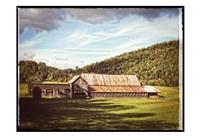 Country Barn 3 Vintage Fine-Art Print