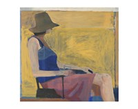 Seated Figure with Hat, 1967 Fine-Art Print