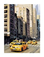 New York Taxi 1 Fine-Art Print