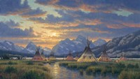 Blackfeet Of The Rockies Fine-Art Print