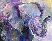 Blue Elephant Fine-Art Print