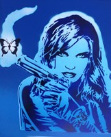 Girls Guns And Butterflies Fine-Art Print