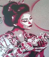 Marble Geisha Fine-Art Print