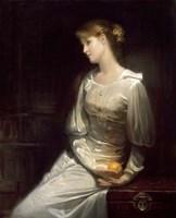 Pensive Lady Fine-Art Print