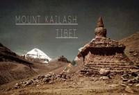 Vintage Mount Kailash, Tibet, Asia Fine-Art Print