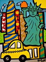 Statue of Liberty Pops Fine-Art Print