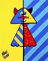 Art Deco Cat Fine-Art Print