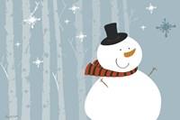 Happy Snowman Fine-Art Print