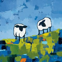 Two Sheep Fine-Art Print
