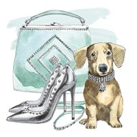 Glamour Pups III Fine-Art Print