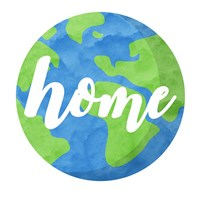 Earth Is Our Home Fine-Art Print