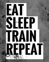 Eat Sleep Train Repeat Fine-Art Print