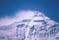 Snowy Summit of Mt Everest, Tibet, China Fine-Art Print