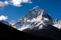 Peak of Ama Dablam Mountain, Nepal Fine-Art Print