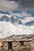 Stone hut, Khumbu Valley, Nepal Fine-Art Print