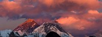 Snowcapped Mountain Peaks, Mt Everest, Himalayas Fine-Art Print