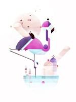 Placido Flamingo Fine-Art Print