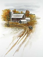 Winter on the Farm Fine-Art Print