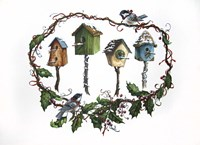 Bird Houses Fine-Art Print