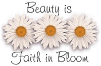 Beauty is Faith in Bloom Fine-Art Print
