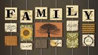 Family on strings Fine-Art Print