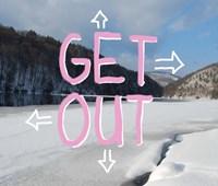 Adirondack Get Out Fine-Art Print