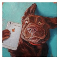 Dog Selfie Fine-Art Print