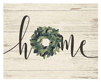Home Wreath Fine-Art Print