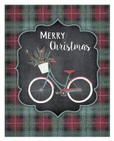 Merry Christmas Bike Fine-Art Print