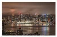 Vancouver Night Fine-Art Print