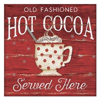 Hot Cocoa Served Here Fine-Art Print